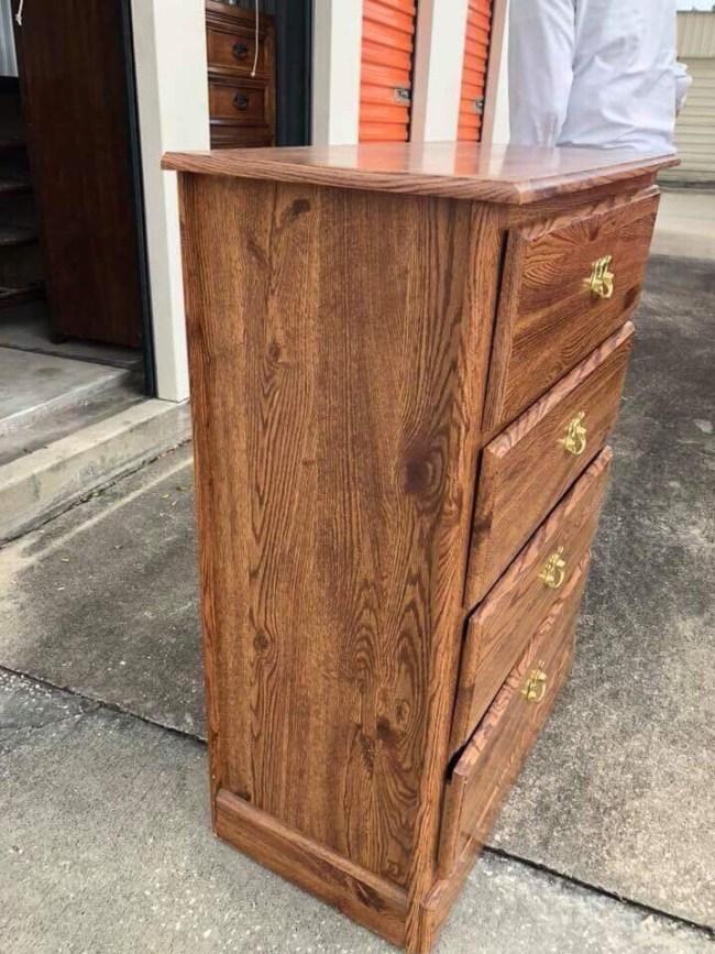 Dresser transformed to Pie Safe - DIY Farmhouse Style Pie Safe