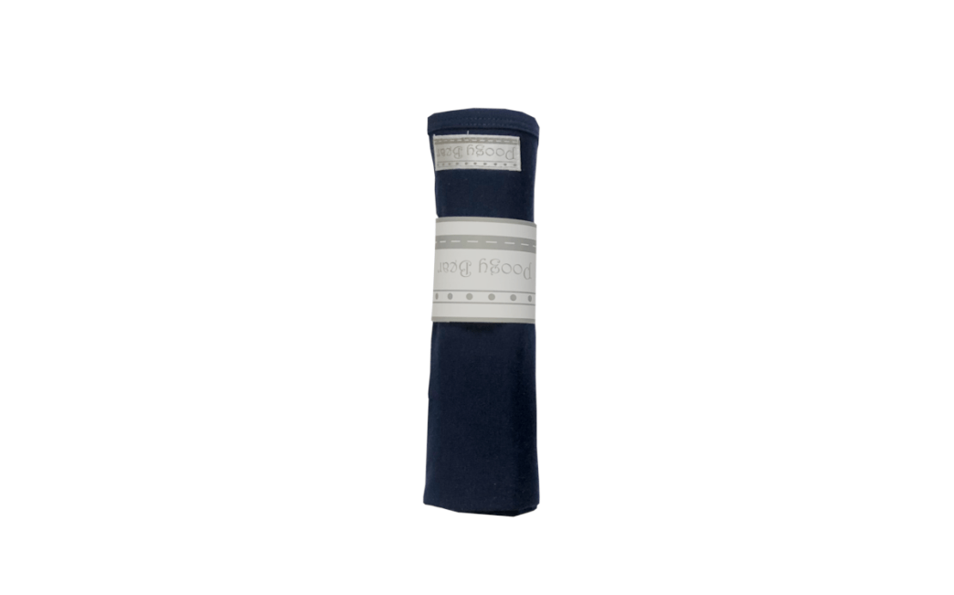 Essential 1-piece Swaddling Blanket Dark Navy