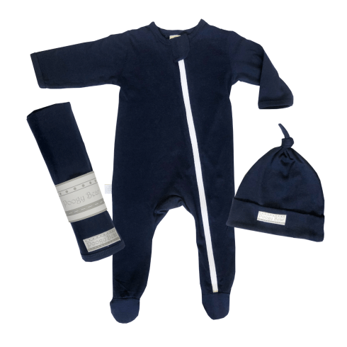 Essential 3-Piece Basics Starter Set Dark Navy