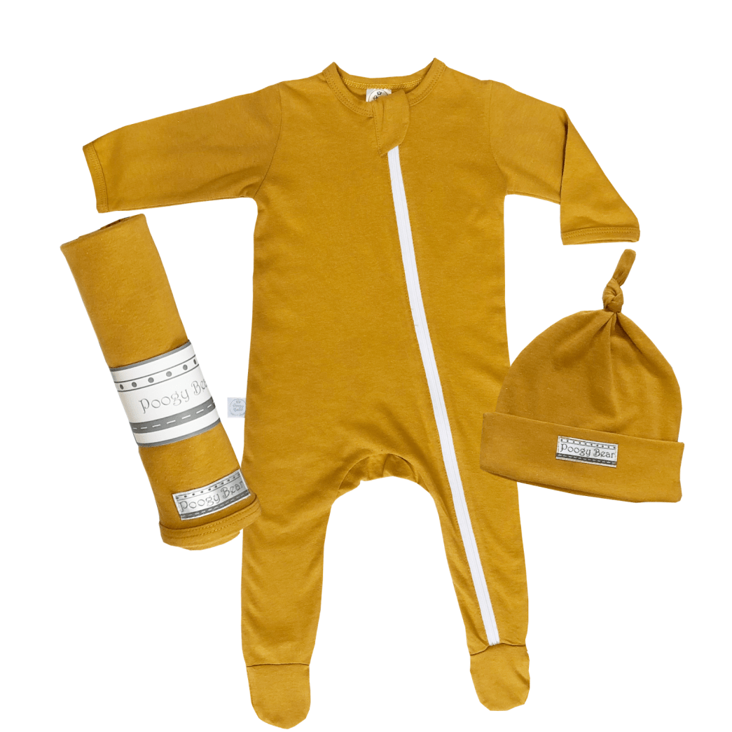 Essential 3-Piece Basics Starter Set Mustard