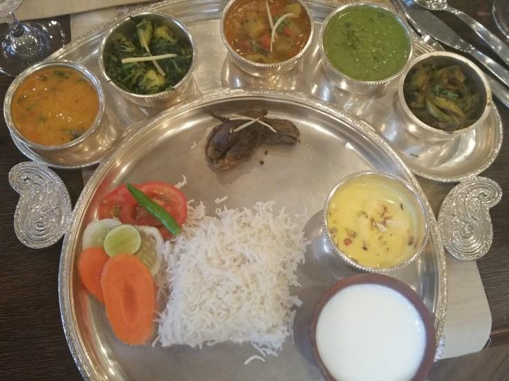 Banarasi Thali - Satvik vegetarian