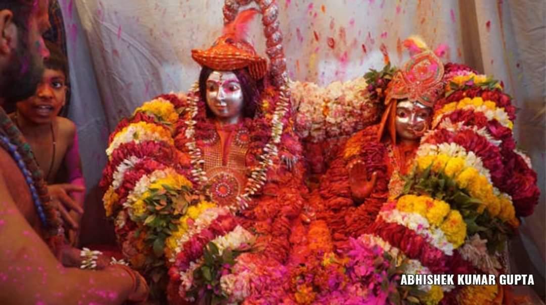 Holi at Banaras