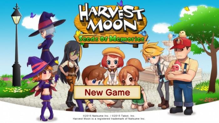 Harvest Moon: Seeds of Memories Review