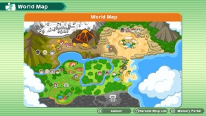 World map - Harvest Moon: One World