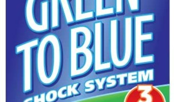 Super Green to Blue Pool Cleaner