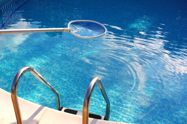 cleaning a swimming pool -How to Get Dirt Out of a Swimming Pool