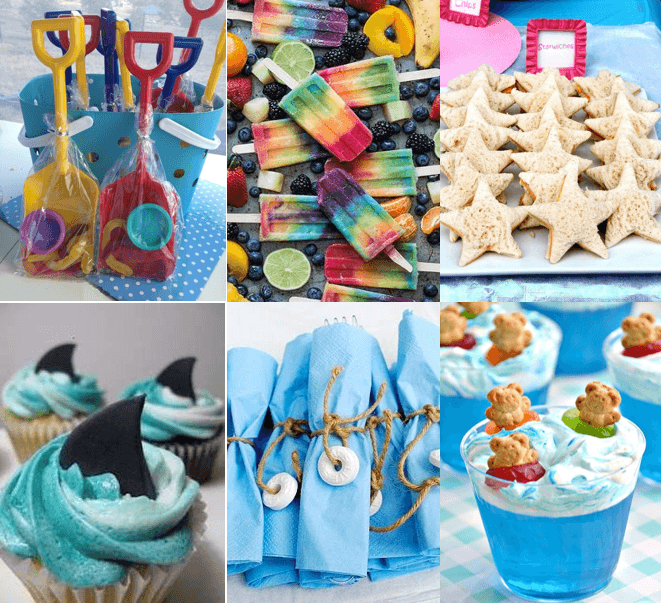 kids food for pool party