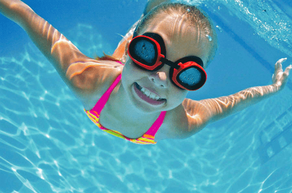 swimming lessons for kids at home