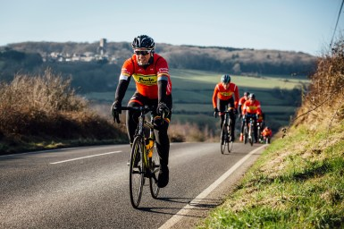 poole wheelers club ride with 540