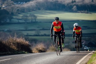 poole wheelers club ride with 558