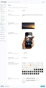 CleanApp Intro Settings