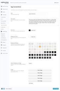 CleanApp Screenshots Settings