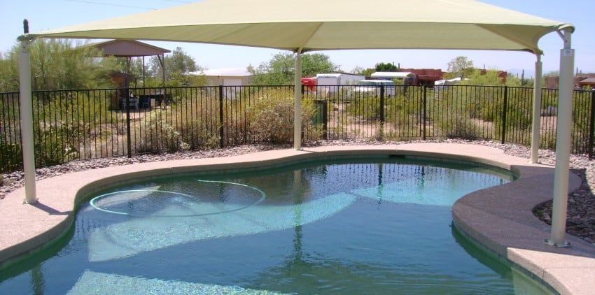 Taking Care Of Your Pool Canopy In The Winter