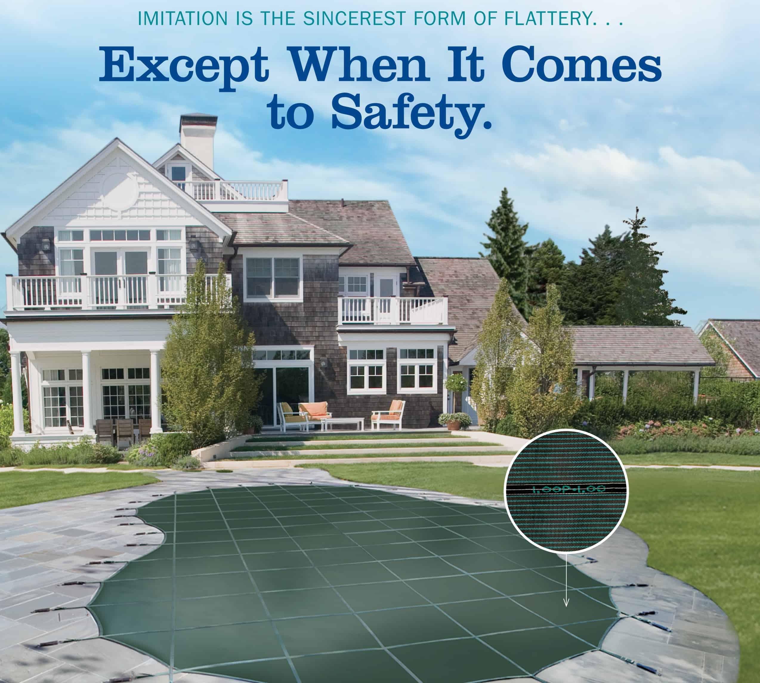 Loop-Loc Pool Safety Cover