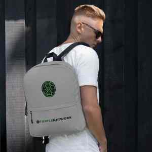 Turtle Network Grey Backpack
