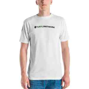 Turtle Network White Men's T-shirt