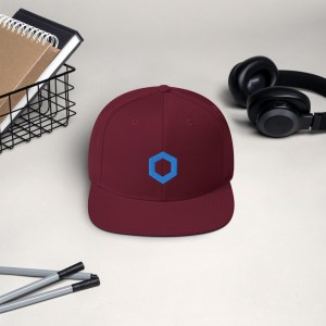 Chainlink Logo Snapback Hat
