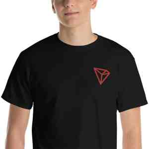 Tron Red Logo Short Sleeve T-Shirt
