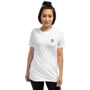 Polkadot Logo Short-Sleeve Unisex T-Shirt