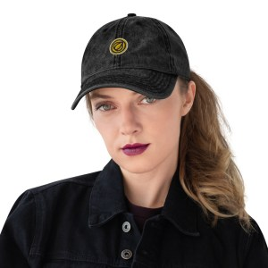 Garlicoin Logo Vintage Cotton Twill Cap