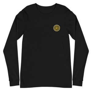 Garlicoin Logo Unisex Long Sleeve Tee