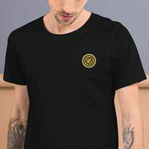 Garlicoin Logo Short-Sleeve Unisex T-Shirt