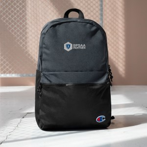 BPSAA Logo Embroidered Champion Backpack