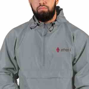 Ether-1 Main Logo Embroidered Champion Packable Jacket