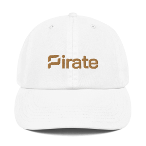 Pirate Champion Dad Cap