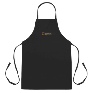 Pirate Embroidered Apron