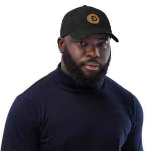 Dogecoin Logo Denim Hat