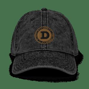 Dogecoin Collectors Vintage Cotton Twill Cap