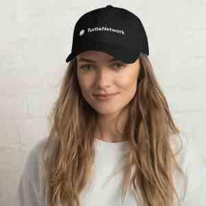 Turtle Network Full Logo Dad hat