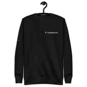 Turtle Network Full Logo  Unisex Fleece Pullover