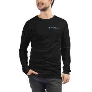Turtle Network Full Logo  Unisex Long Sleeve Tee
