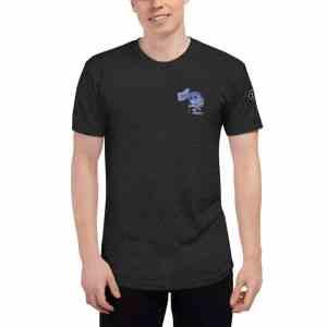 Ergonauts with sleeve Logo Unisex Tri-Blend Track Shirt