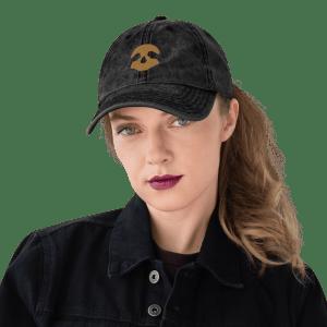 Pirate Skull Vintage Cotton Twill Cap