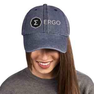 Ergo Full Logo Vintage Hat