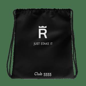Club 5555 Drawstring bag