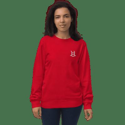 unisex-organic-sweatshirt-red-front-6154e0ddaca3d.png