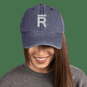 REX Token Logo Vintage Hat