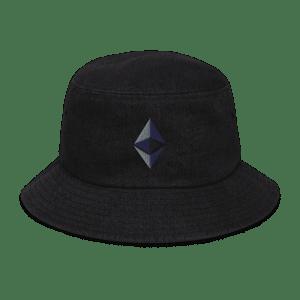 Ethereum Logo Denim bucket hat