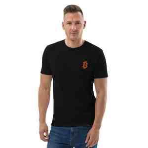 Bitcoin Logo Unisex organic cotton t-shirt