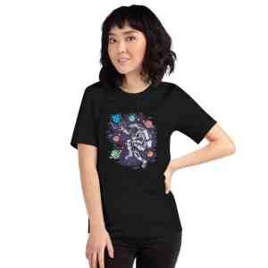 Sentinel Dvpn Moonboy Short-Sleeve Unisex T-Shirt
