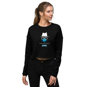 Sentinel dVPN Detective Crop Sweatshirt