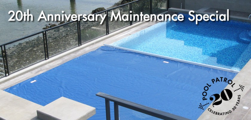 pool cover maintenance special