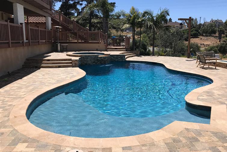 pool resurfacing palm springs pools