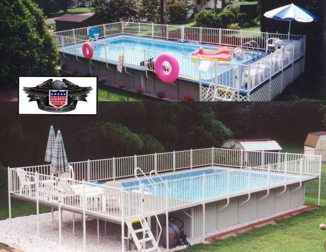 Buster Crabbe's Admirals Walk Pool Model