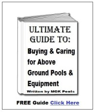 above ground pool book