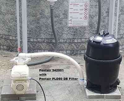 Filter 24 round pool